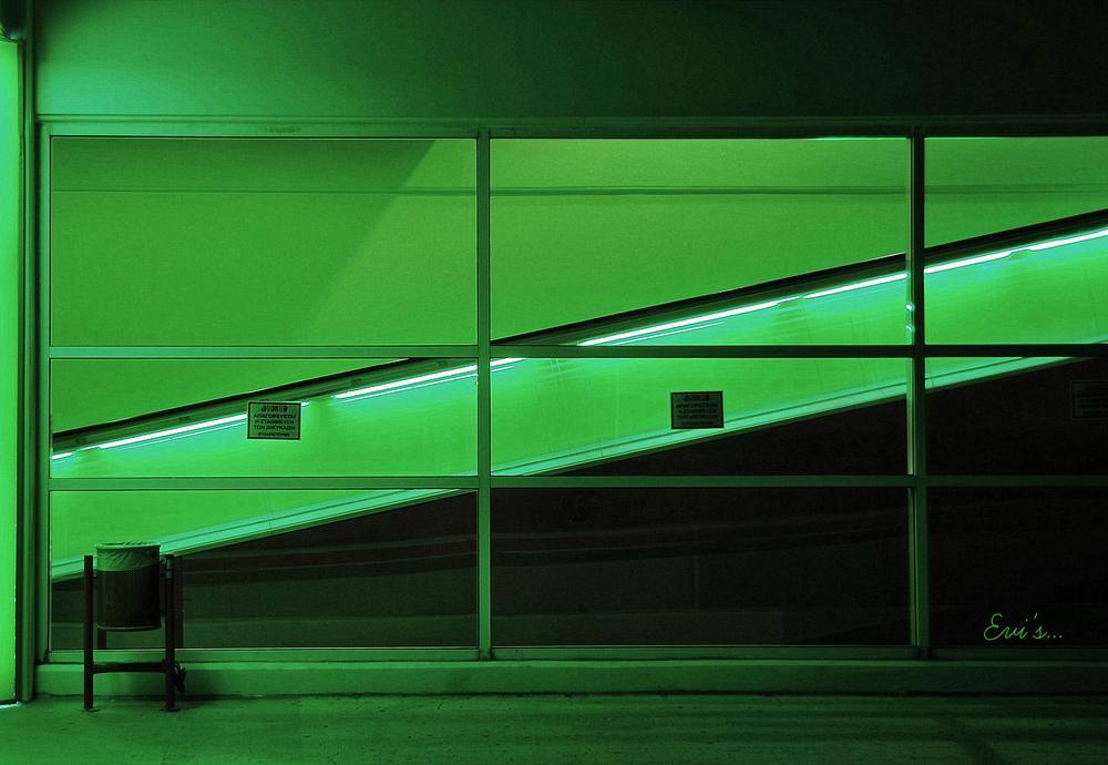 green geometry. by evipan1085