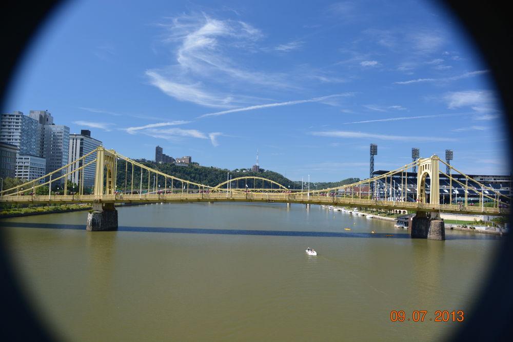Bridges of Pittsburgh by Shel Yetman