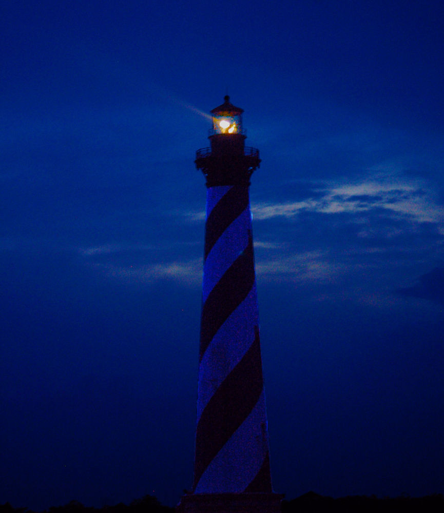 Cape Hatteras Lighthouse by Shel Yetman
