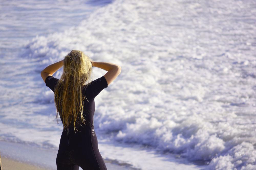Surfer Girl by Shel Yetman
