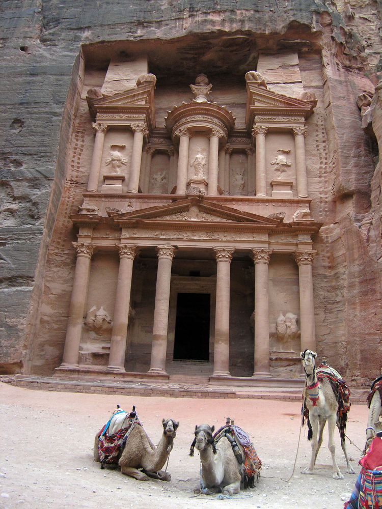 Petra by Shimon Aluf
