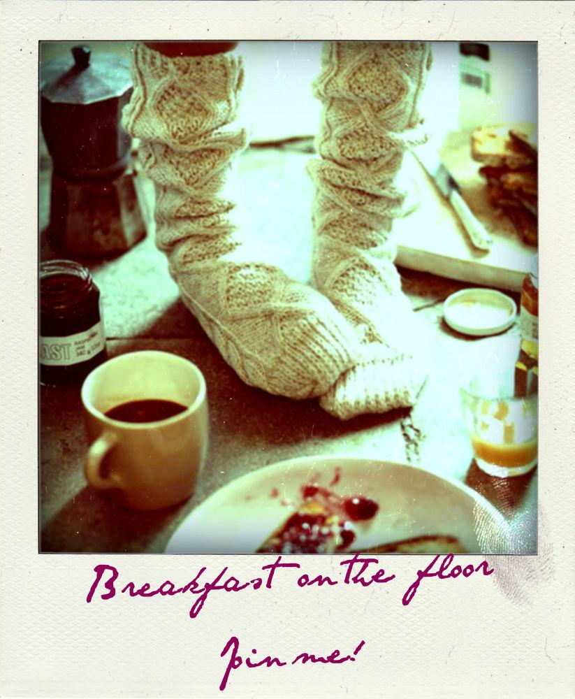 Breakfast on the floor by wolfofdeixais