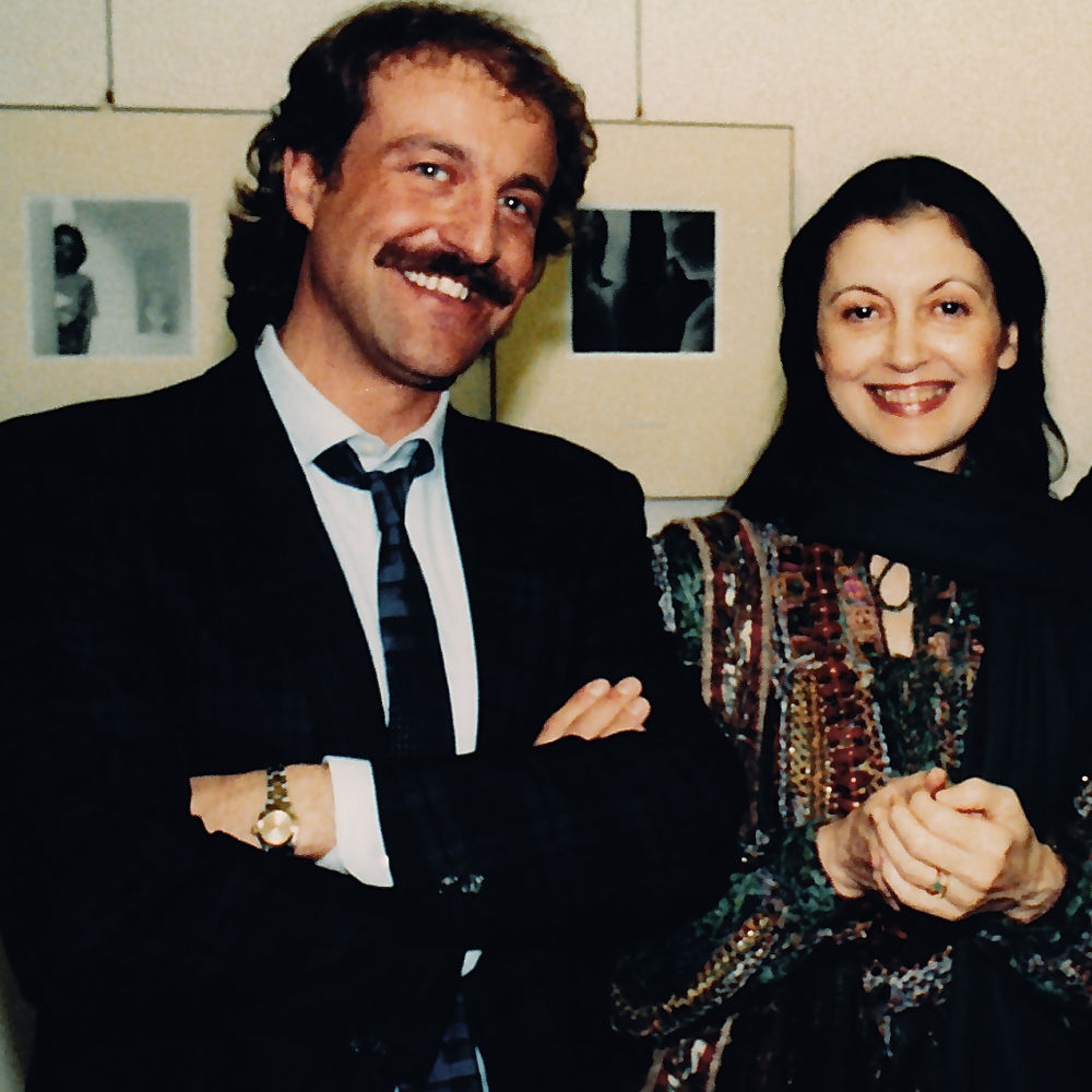 Augusto De Luca & Carla Fracci by FamousPortraits