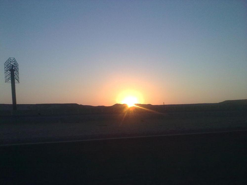 Sunrise first day of Eid al-Fitr-Egypt by noran