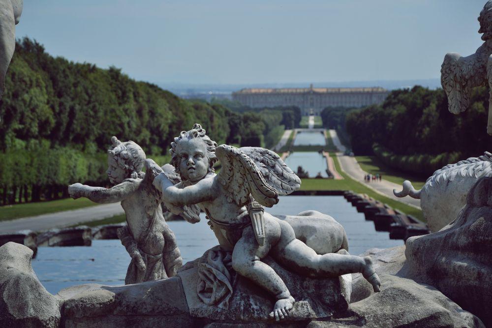 Photo in Random #view #italy #caserta #campania #reggia #royal palace