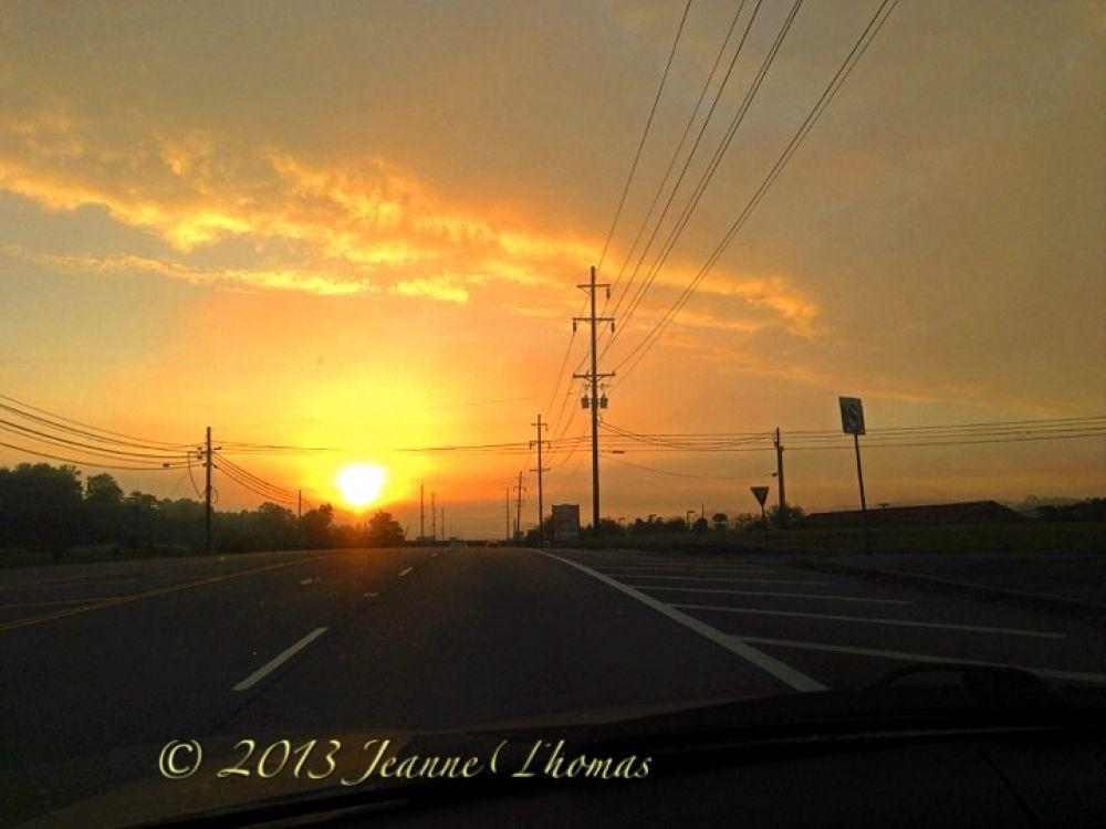 Sunrise serenade by jeannemagic