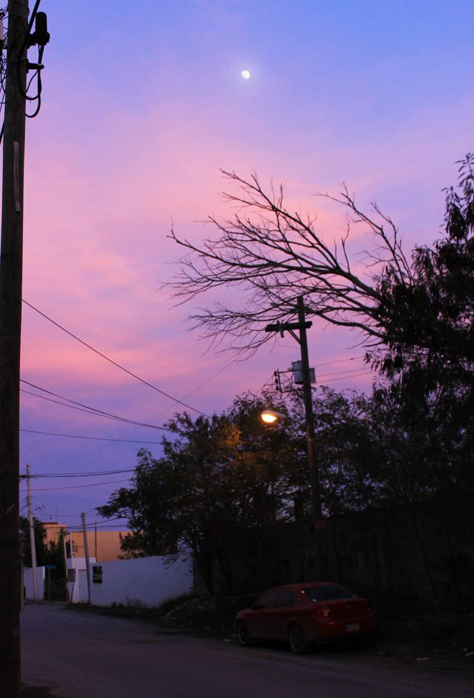 Purple sky by cristinaatorres