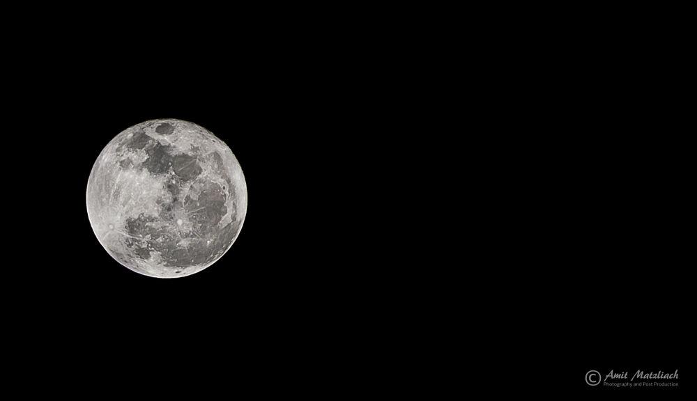 Full Moon 16.01.14 by amit matzliach