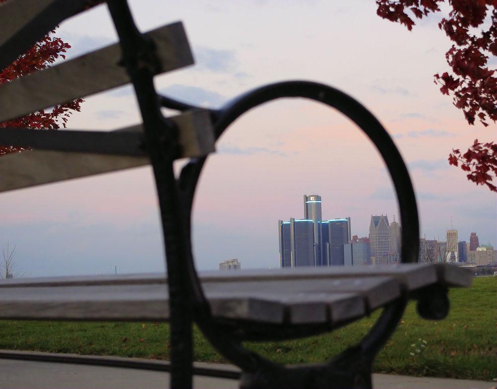 A View Of Detroit by chuckhildebrandt7