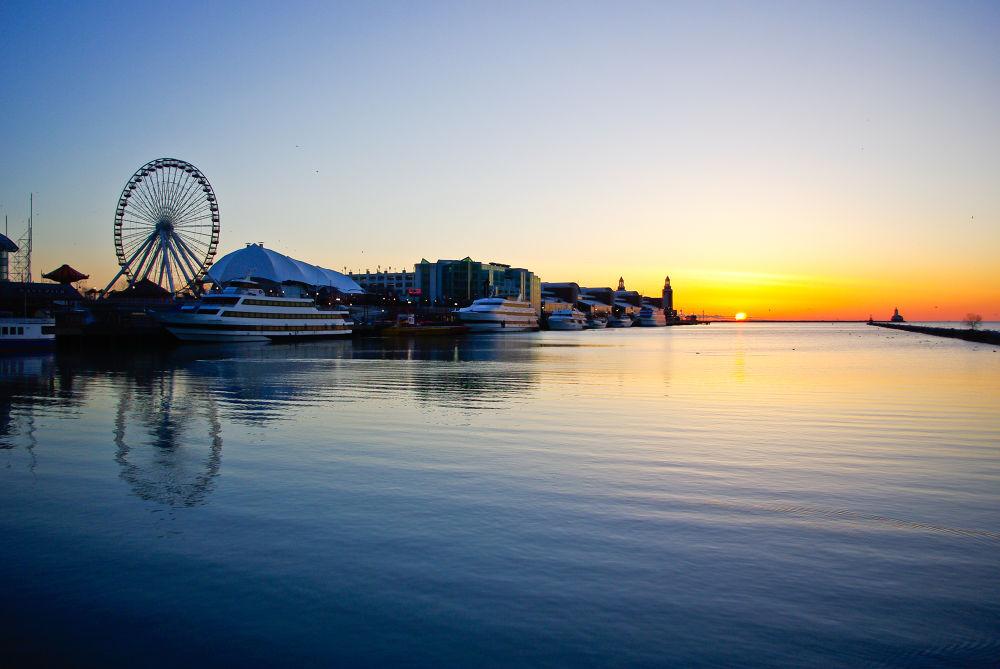 Navy Pier, Chicago by chuckhildebrandt7