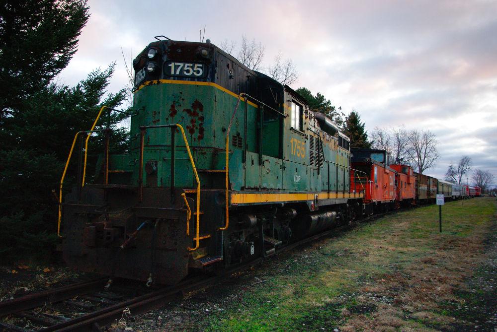 Photo in Vehicle #train #train engine #blissfield michigan