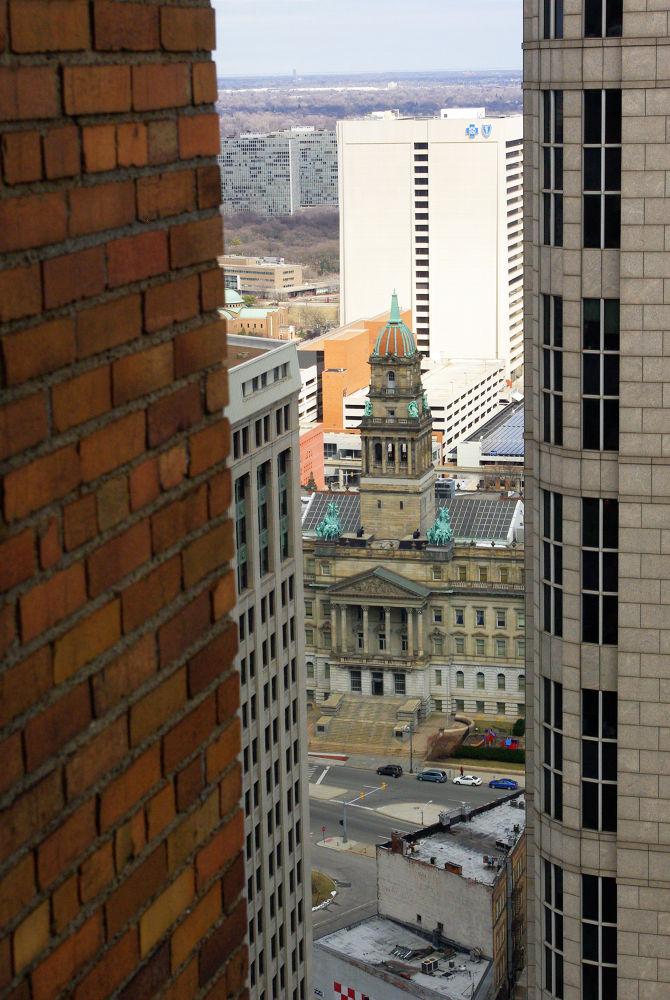 Detroit View by chuckhildebrandt7