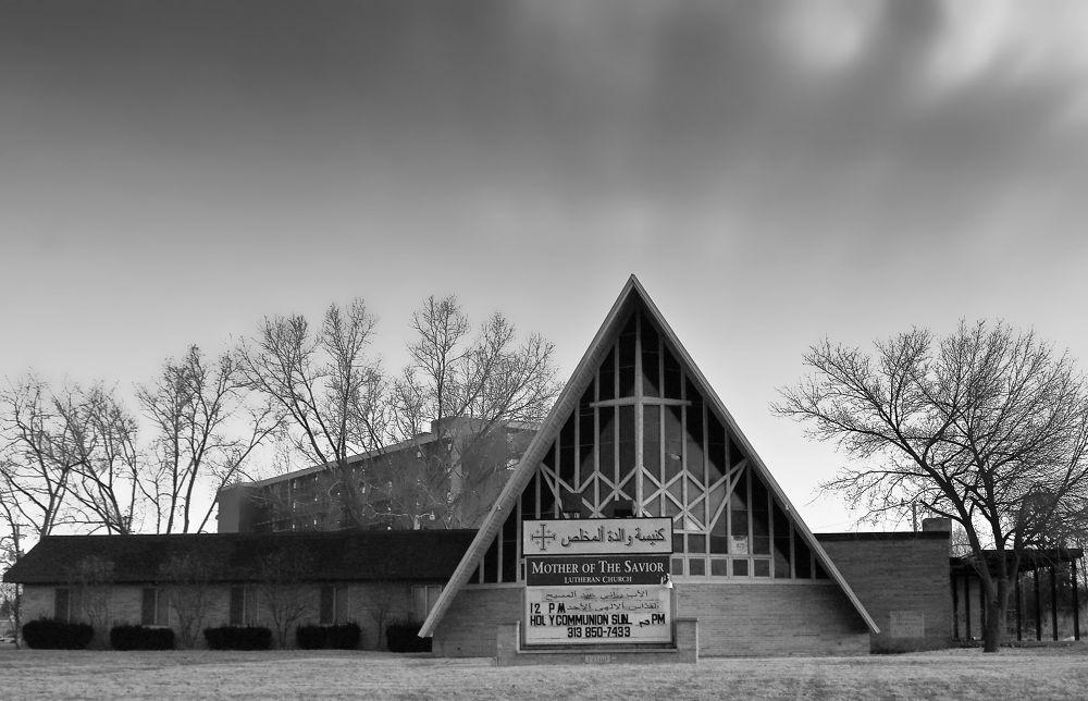 Church in Dearborn, MI by chuckhildebrandt7