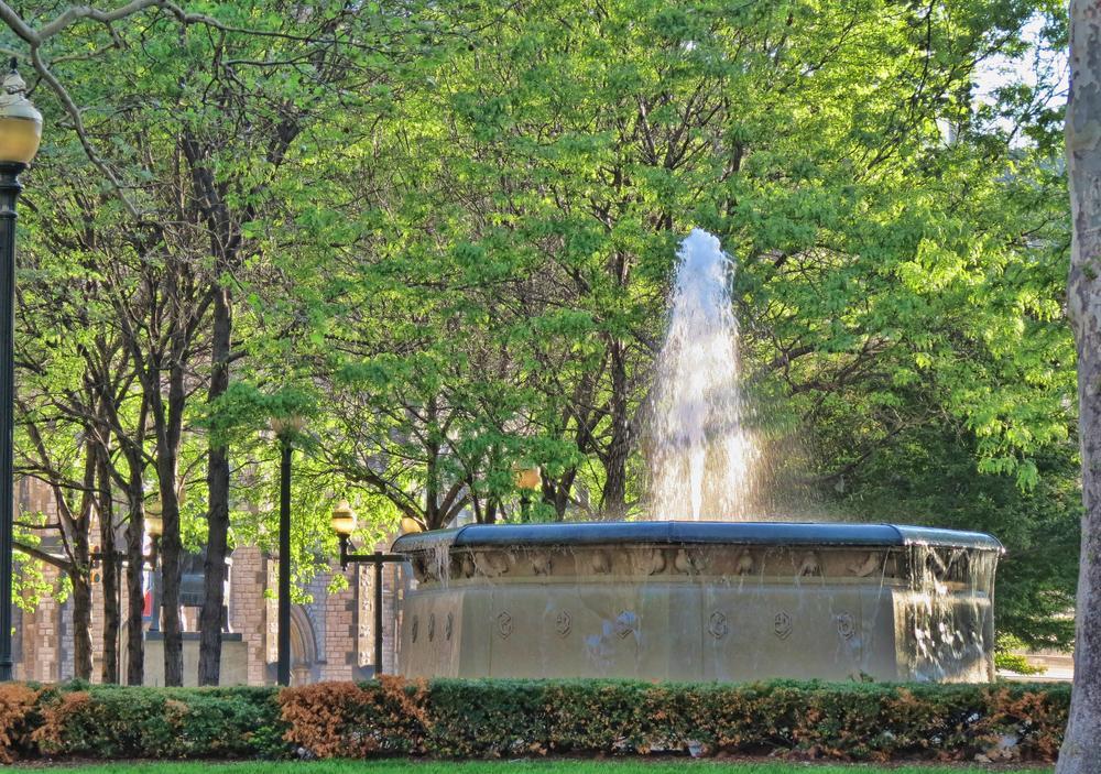 Fountain by chuckhildebrandt7