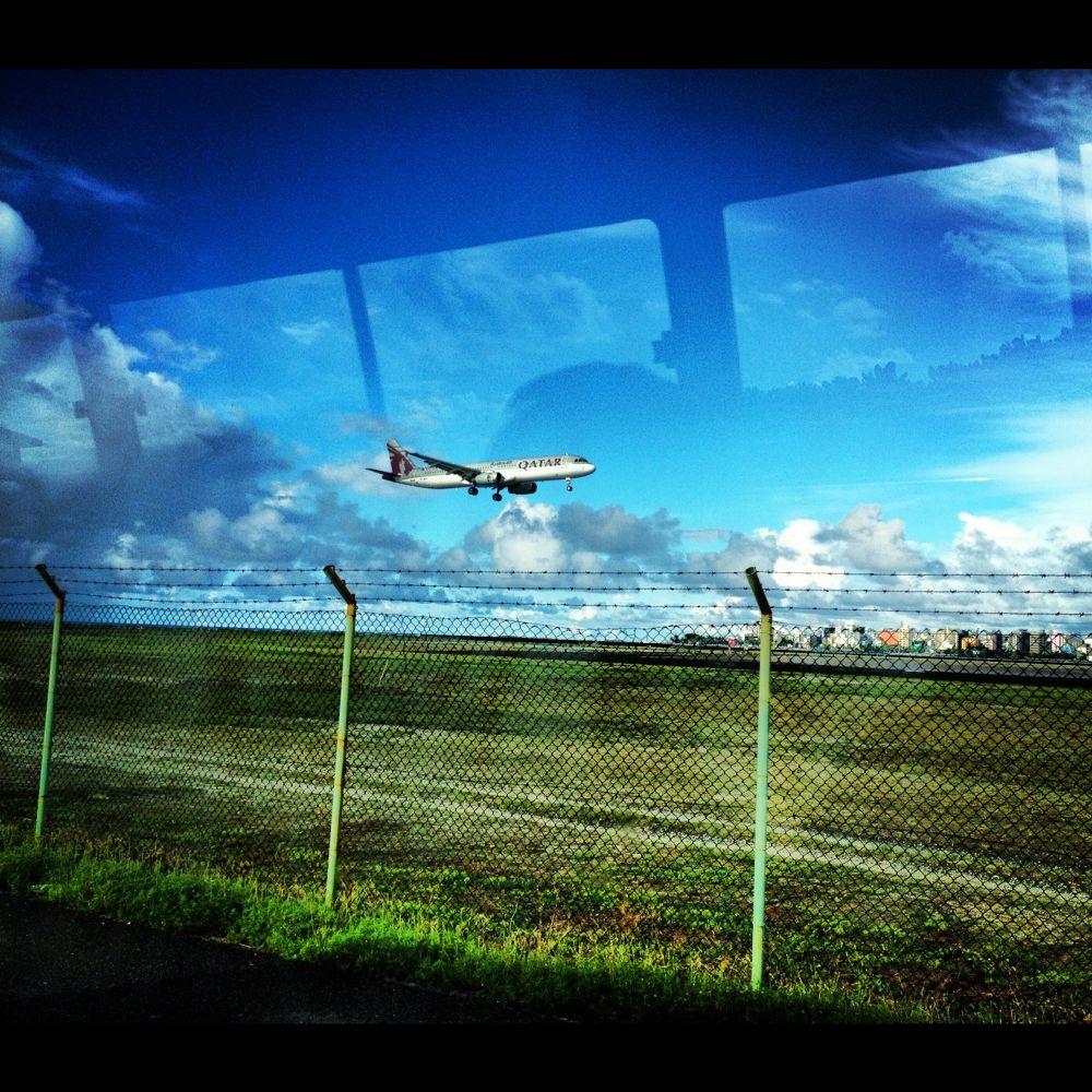 Maldives, Male' International Airport by muhas