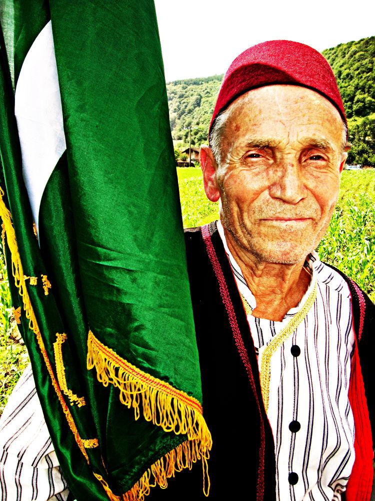 Bosnian old man. by Eki