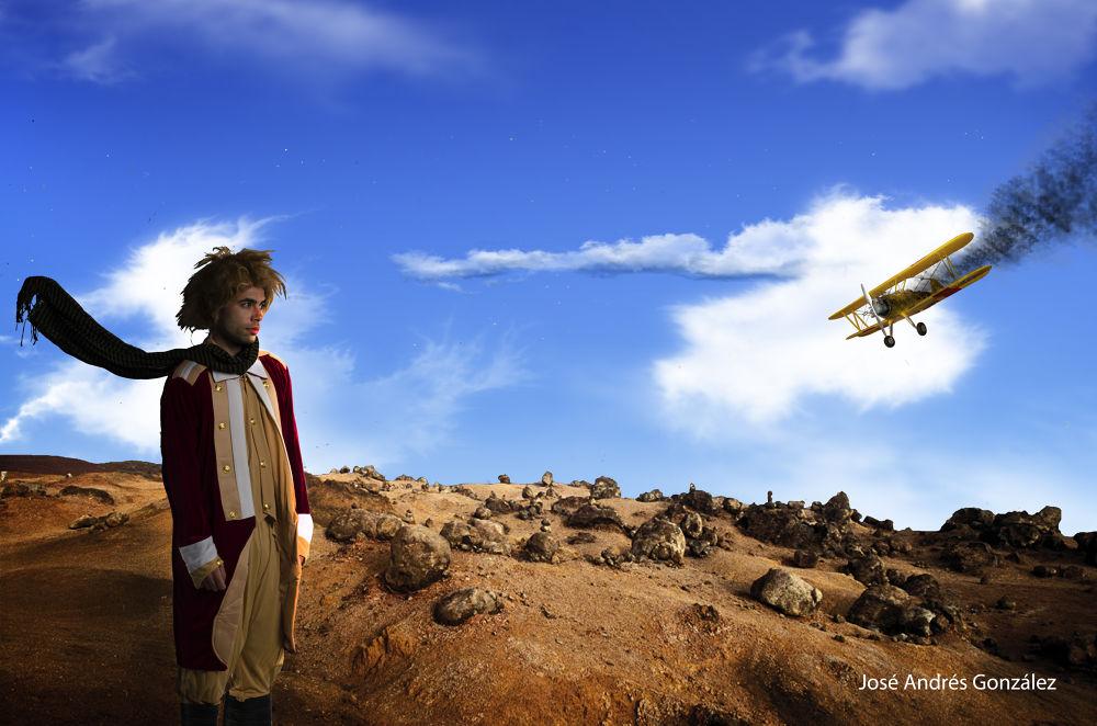 Le Petit Prince IV by JoseAndresGonzalezRanilla
