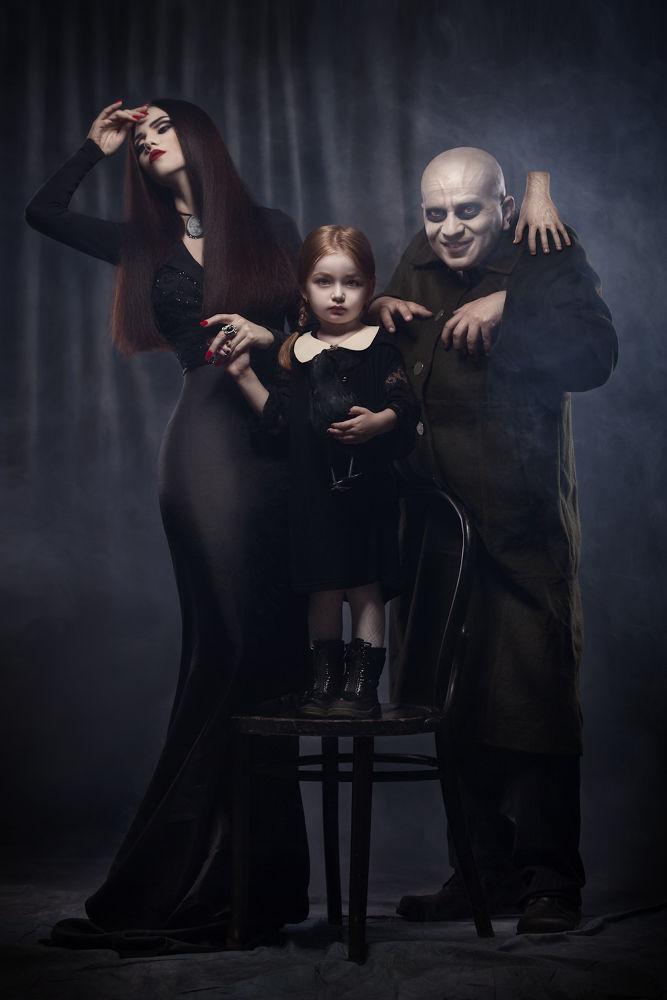 The Addams Family by Liviu Mihai