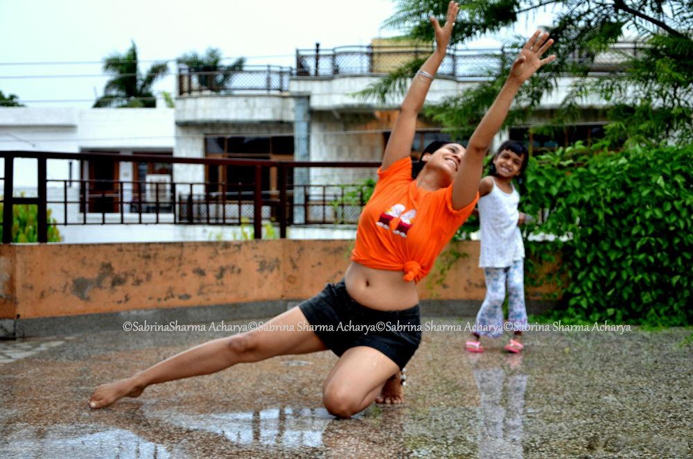 Dance like there is no one watching. by Sabrina Sharma Acharya