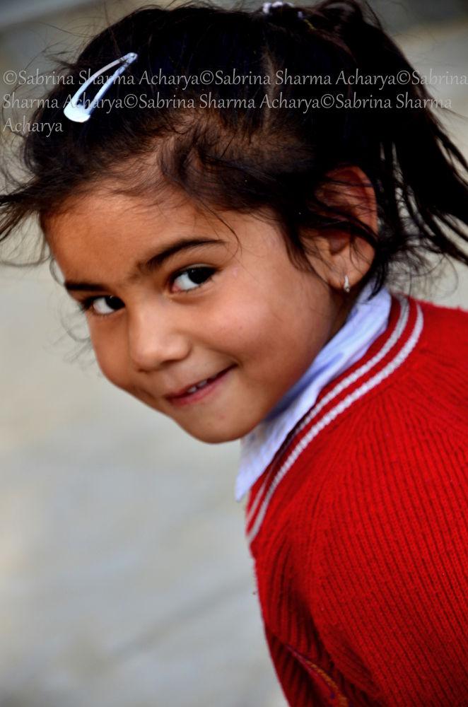 This little gave me a windswept glance and stole my heart..:) by Sabrina Sharma Acharya