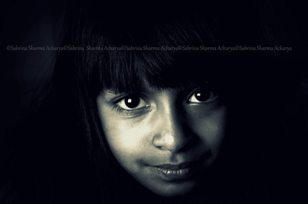Those eyes stir my soul! by Sabrina Sharma Acharya