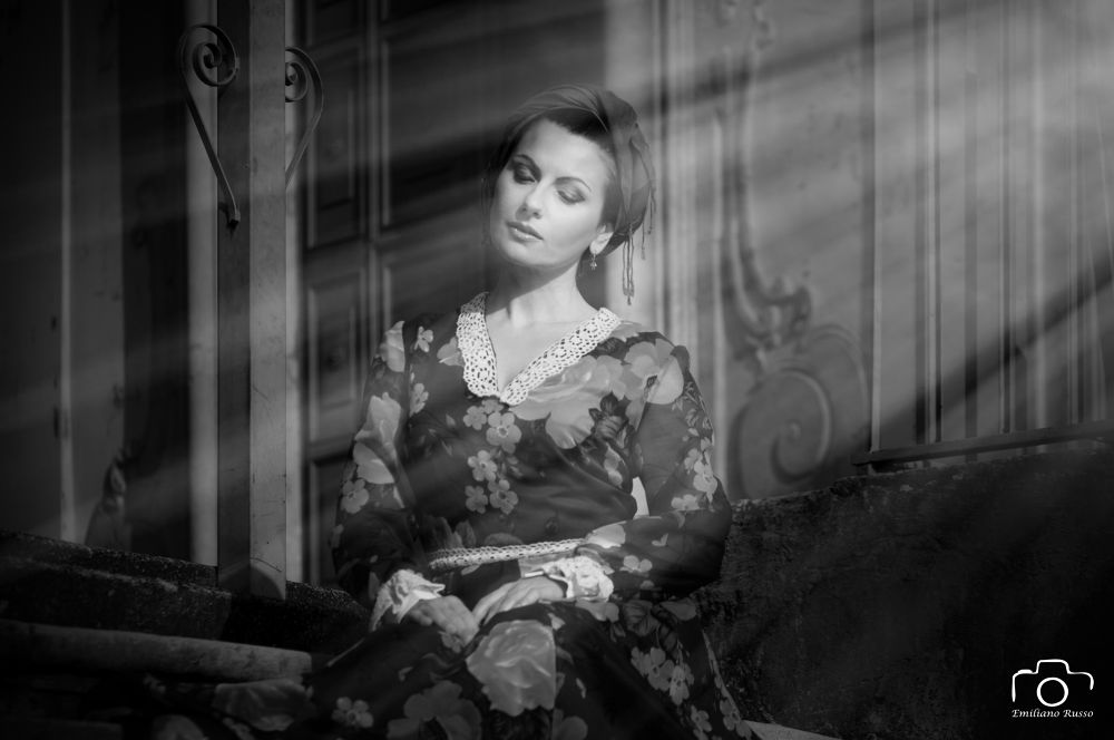 Photo in Black and White #woman #romantic #time #no time #fashion #vintage #black #white #b&w #hunted #hunting #amazing #astounded #gorgeous #beauty #old fashioned #black & white #nice #pretty