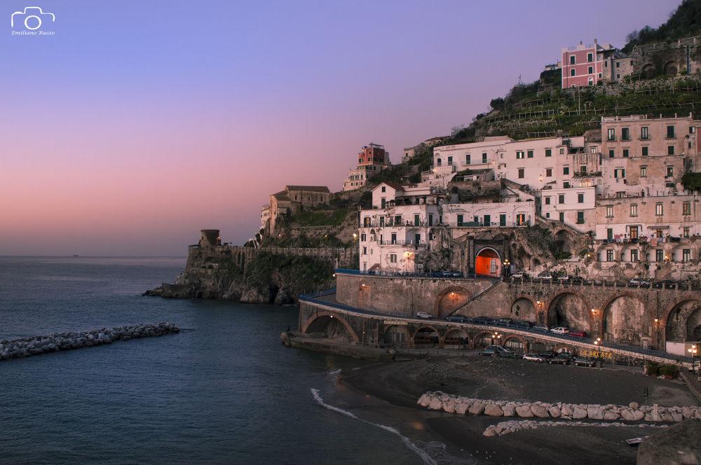 Sunrise on Amalfi Coast by Emiliano Russo - professional photographer