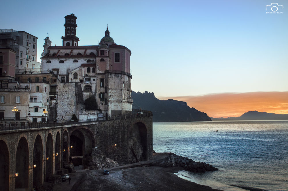 Sunrise on Atrani - Amalfi Coast by Emiliano Russo - professional photographer