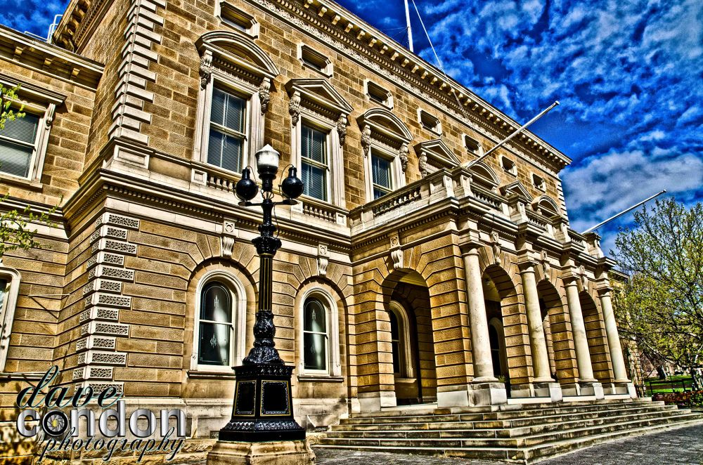 Hobart Town Hall (1864) by Condo74