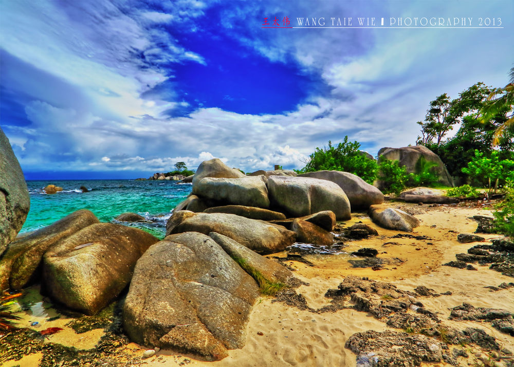 LENGKUAS ISLAND,BELITUNG-INDONESIA by taiewie