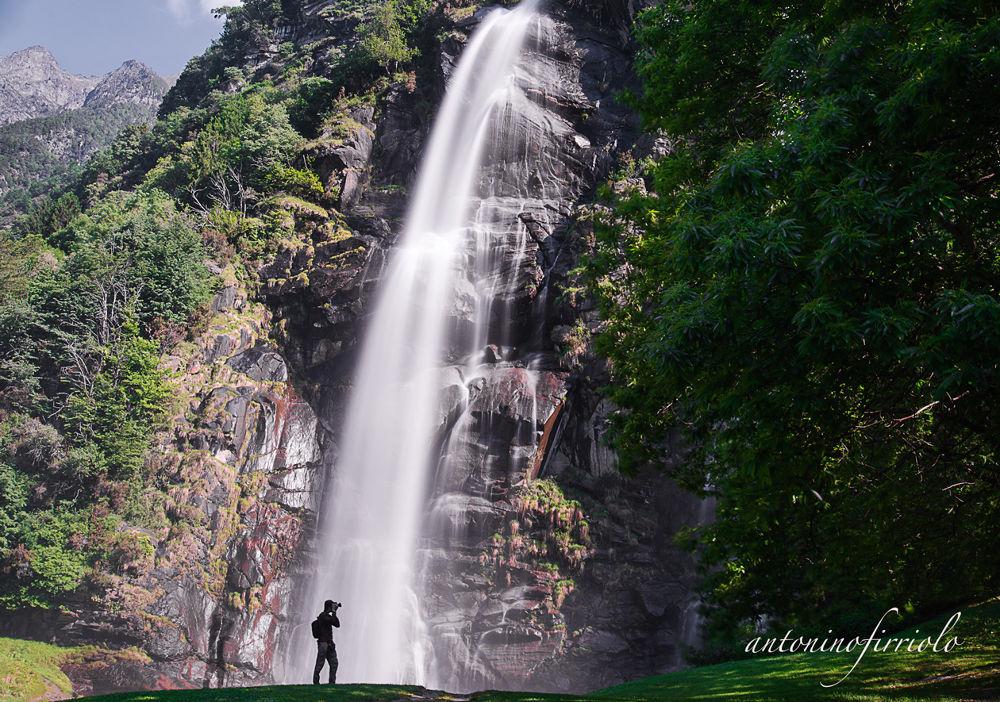 Cascata dell'Acquafraggia, Valchiavenna, (SO). by antoninofirriolo12