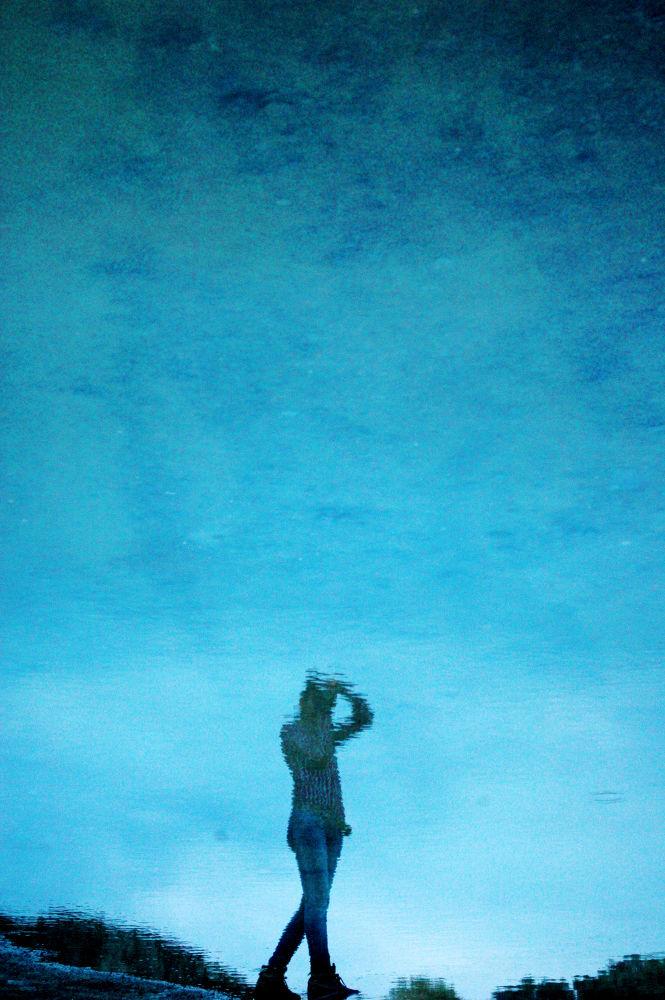 the reflection of the photographer by Aydın Tunçer Gonejko
