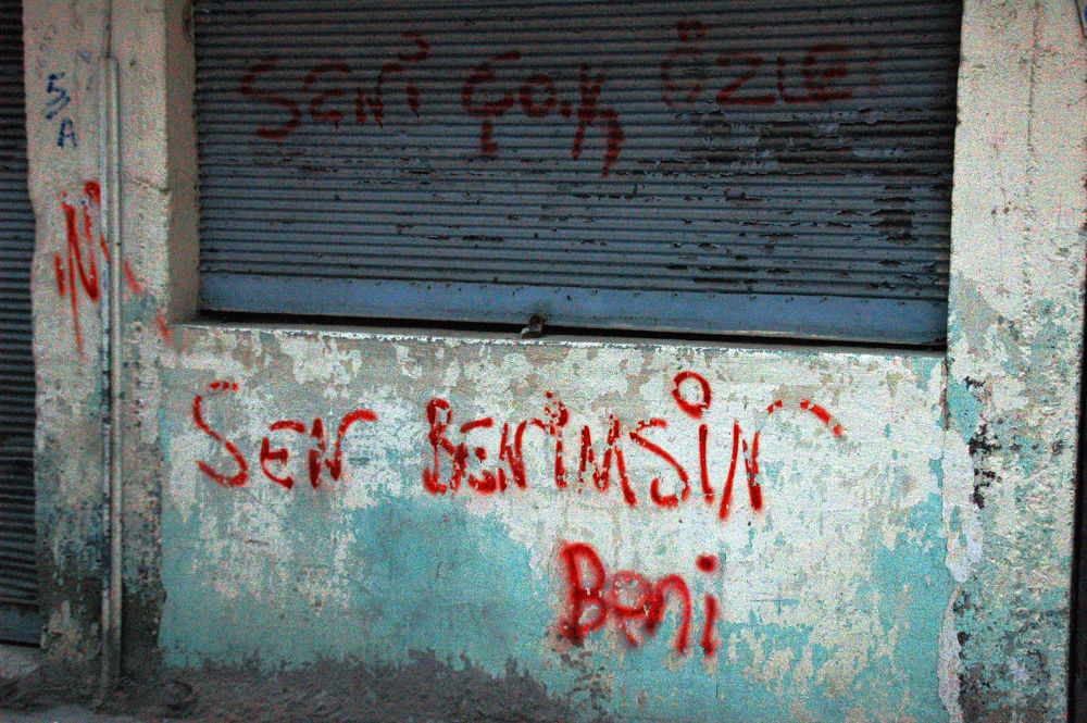 wall stories by Aydın Tunçer Gonejko