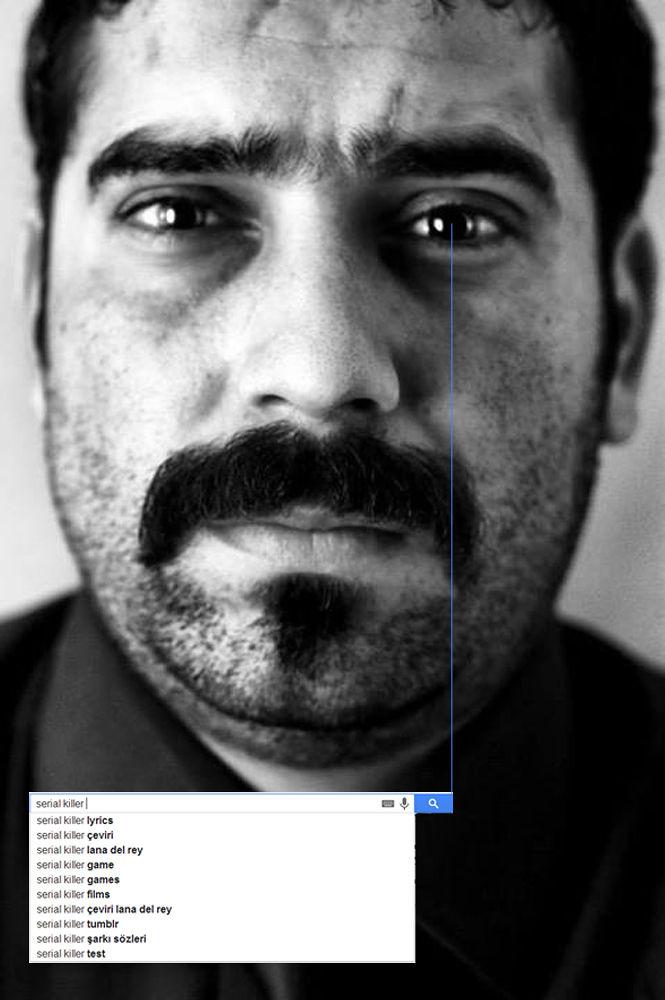 serial killer (search button) by Aydın Tunçer Gonejko