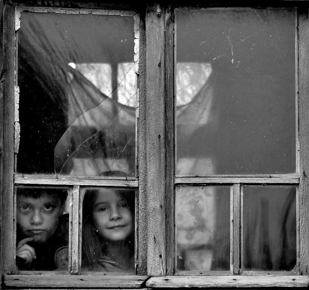 on the other side of the window by goran