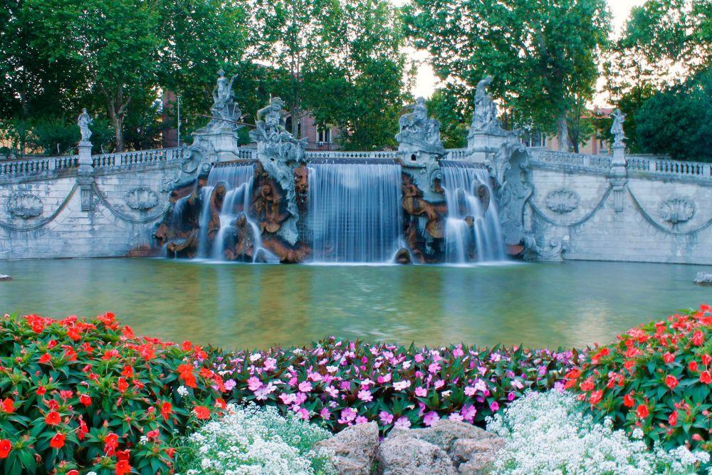 Fontana dei Dodici Mesi - Turin by Davide Fiume