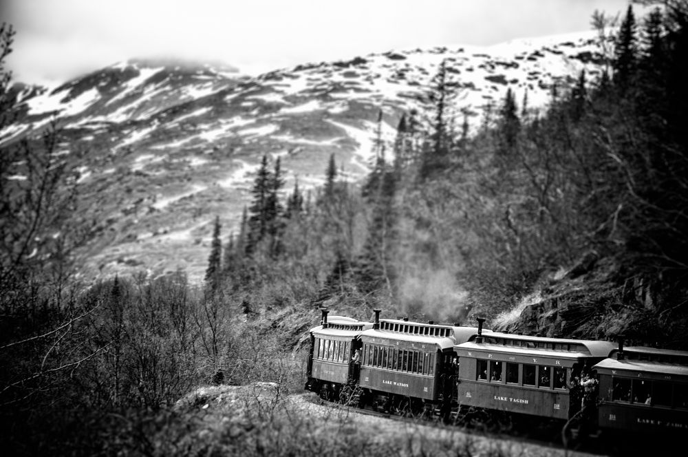 White Pass & Yukon Route Railroad, Skagway, Alaska, United States by Paulo Souza Photography