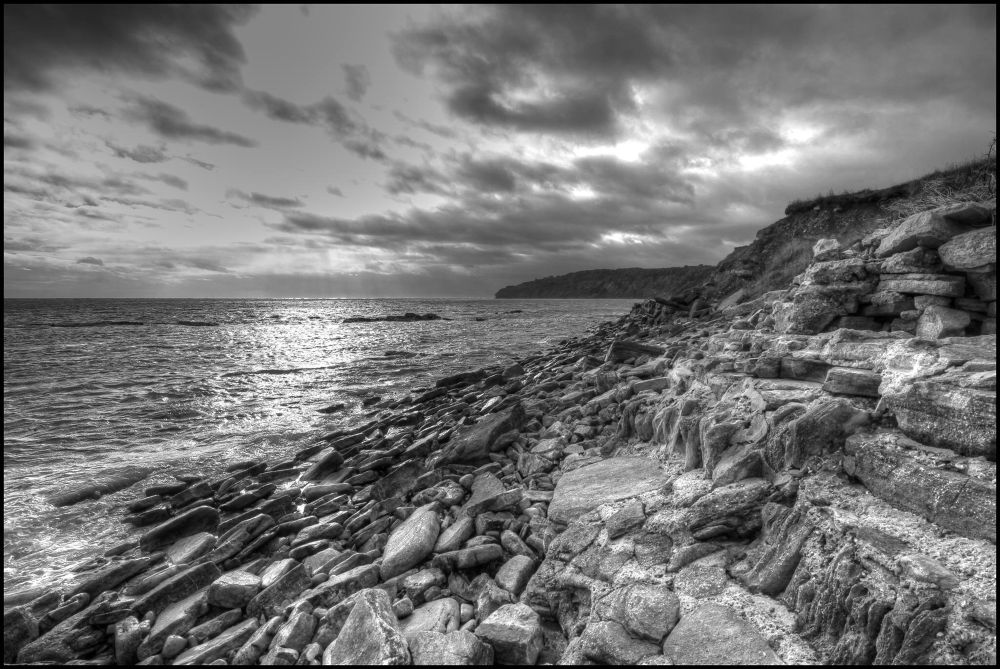 Durlston Bay  by Gareth James