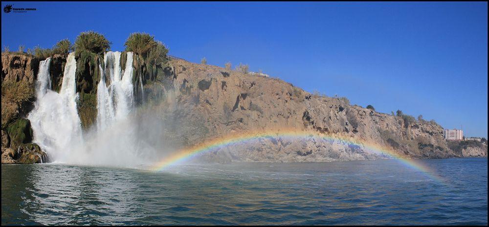 Antalya rainbow by Gareth James
