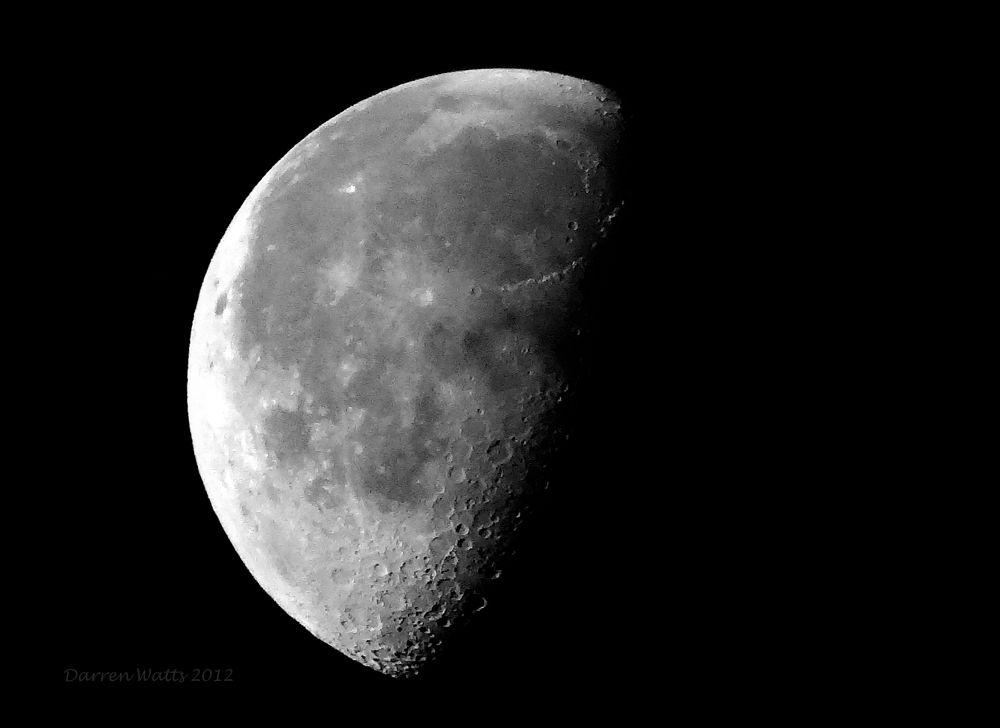 Mr Moon by Darren Watts Photography