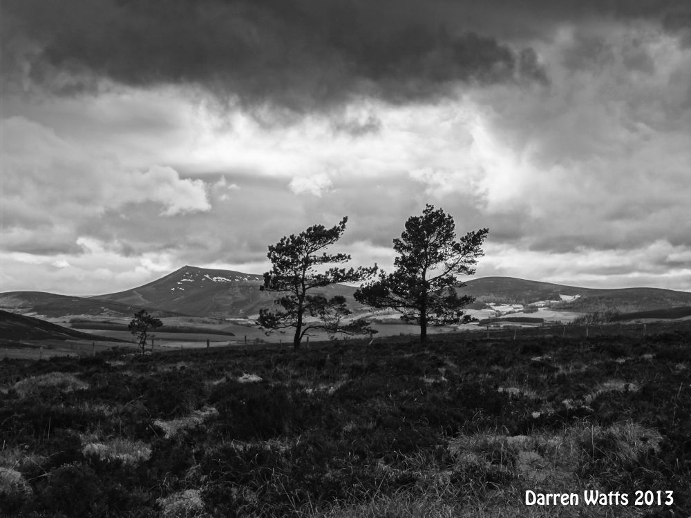 Ben Rinnes with the Dufftown Vally by Darren Watts Photography