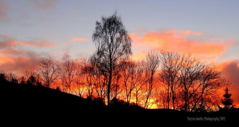 Scottish Sunrise by Darren Watts Photography