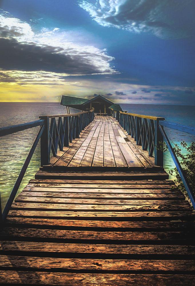 Old Bridge by Imal Prayitno