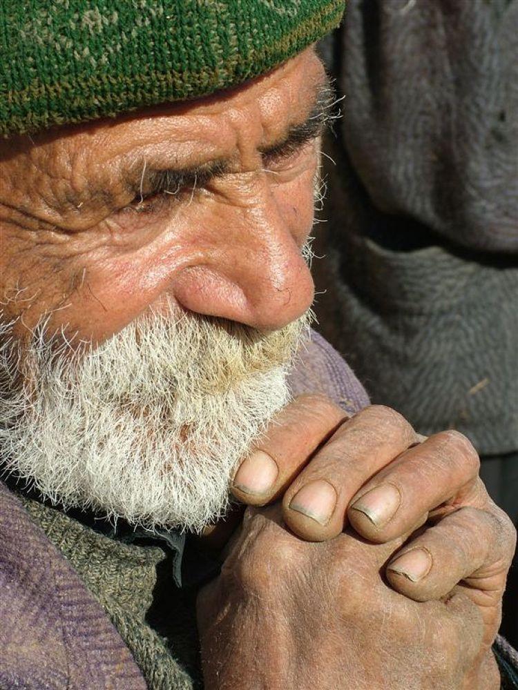 men in village by ahmad bazavi