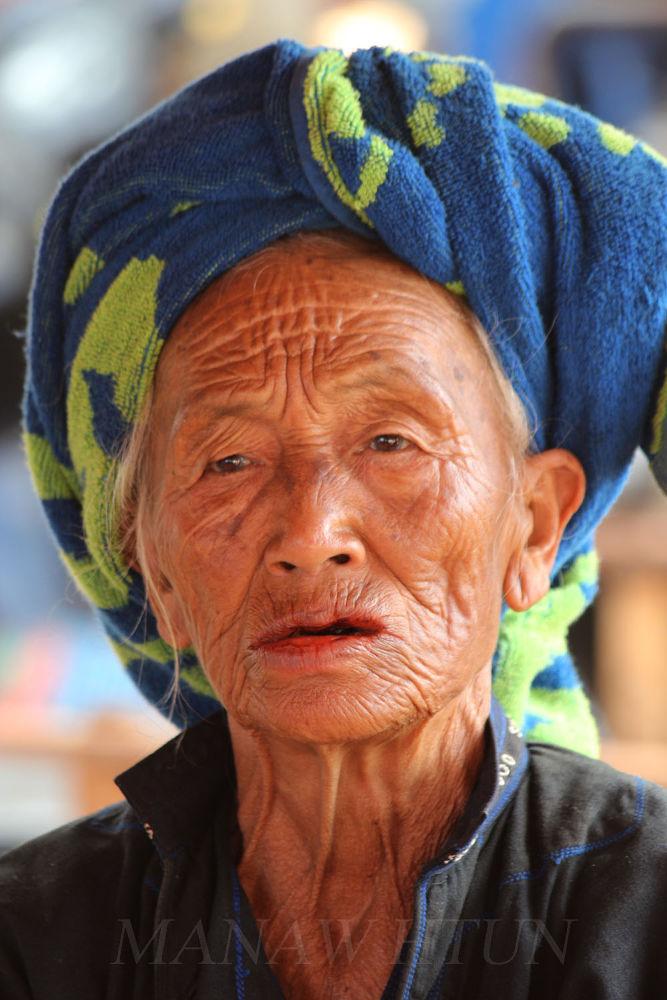 Paooh native woman by manawhtun