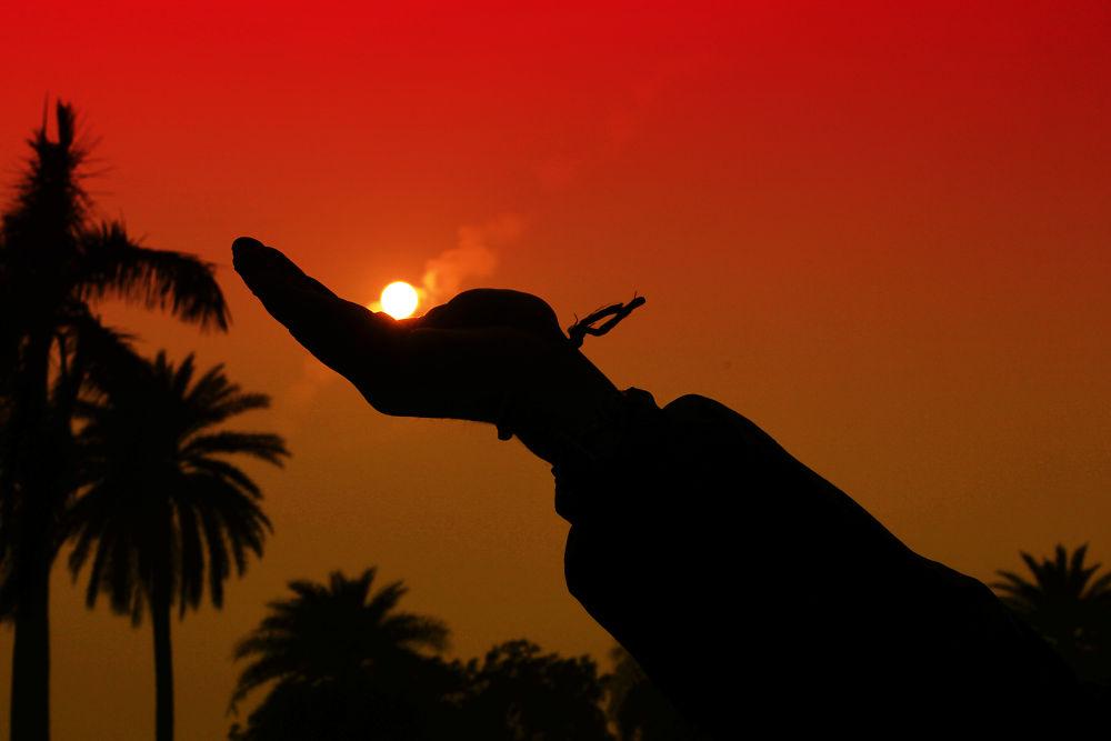 sunset by bapsupaul