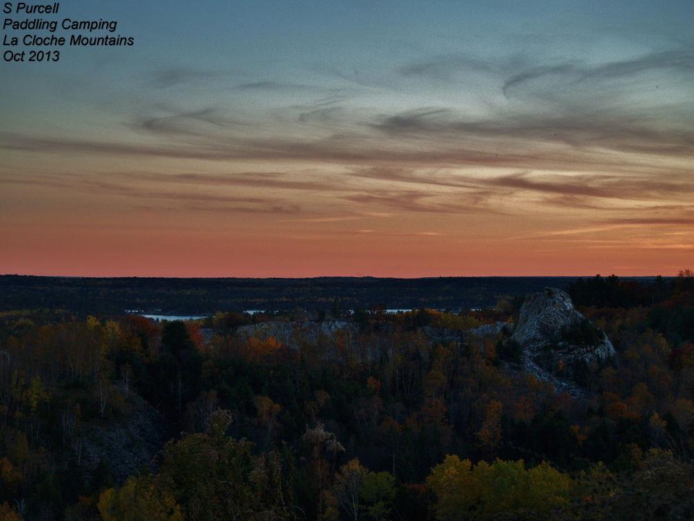 Photo in Landscape #twilight #la cloche mountains