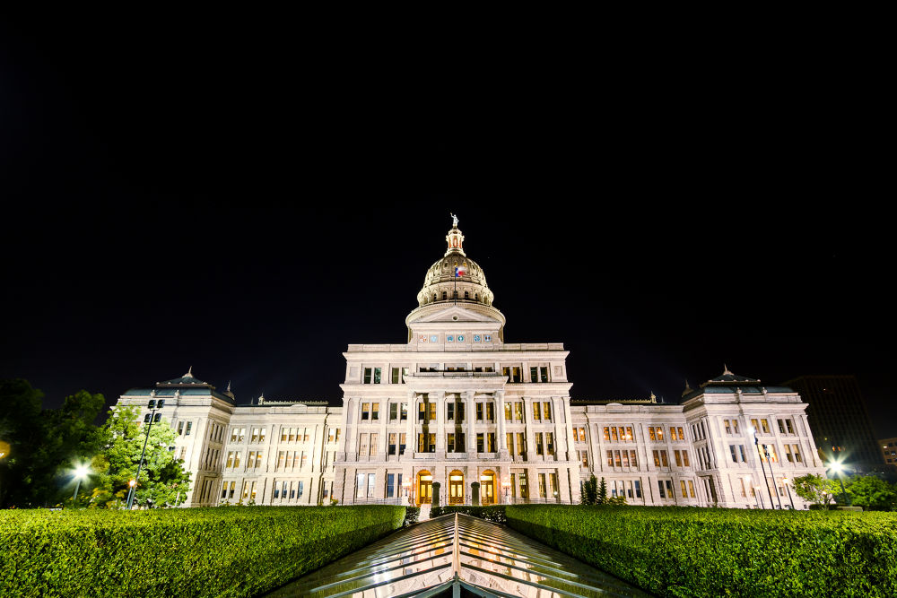 Austin Capitol Backside by greasemanhimself