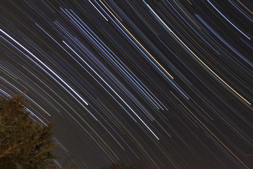 NYE 2013 Star Trails by greasemanhimself