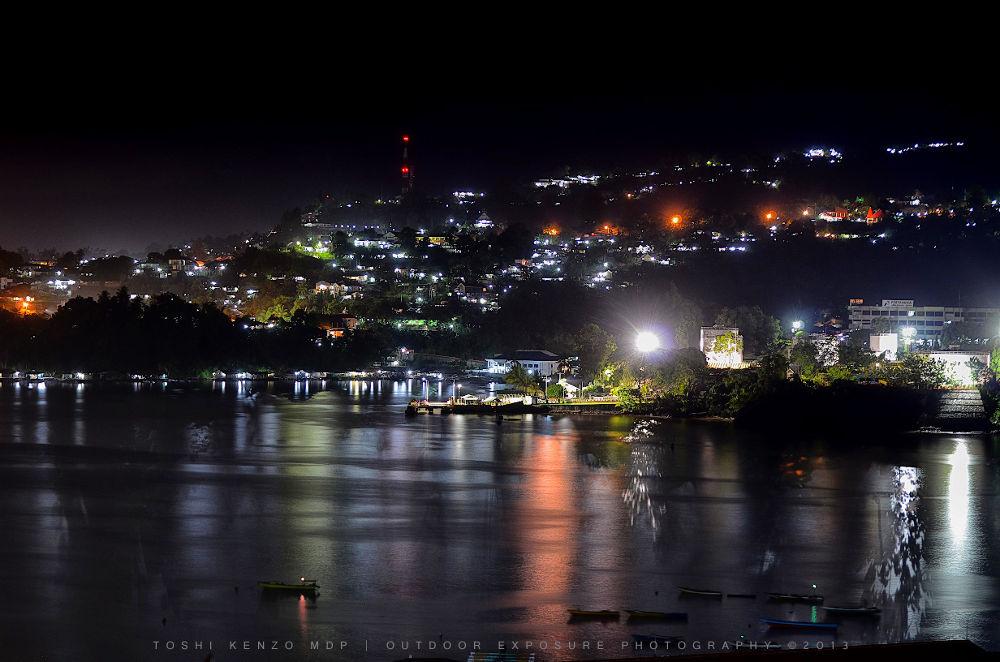Humboldt Bay Night Lights by TOSHI KENZO MDP™